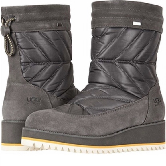a51f1728c33 Ugg Beck Waterproof Snow Boot 9 in Charcoal